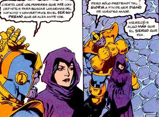 Thanos y Death