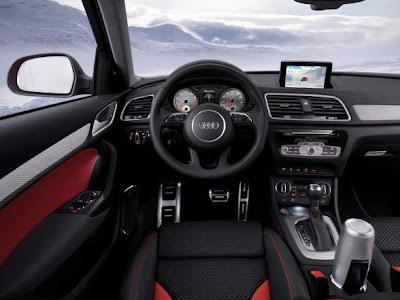 2012 Audi Q3 Vail Interior