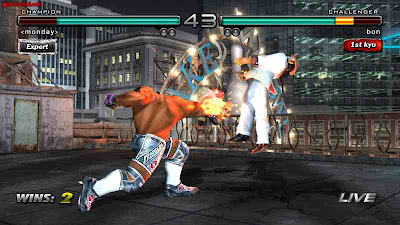 Tekken 5 scren shot pc