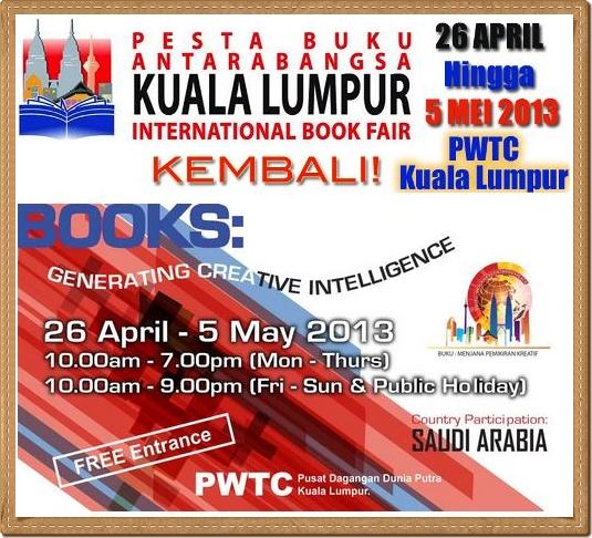 Pesta Buku Antarabangsa Kuala Lumpur 2013