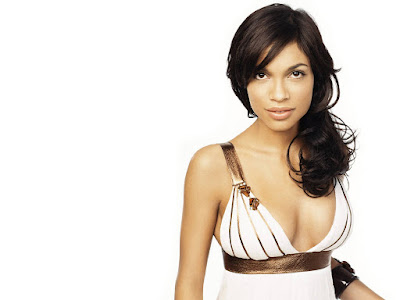 Singer Rosario Dawson Hot Wallpaper