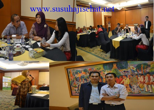Pertemuan Agen Susu Haji Sehat Sejabotabek