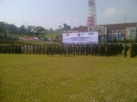 Ekspektasi Perdamaian Dunia di Pundak Alumni Latgab Militer 21 Negara di Bogor