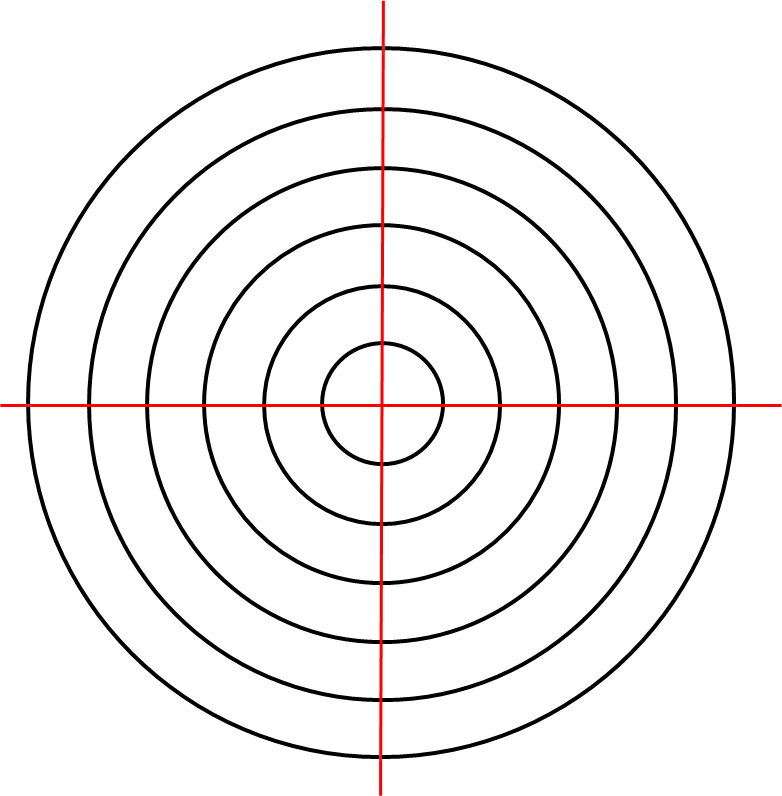 Concentric Circles Template | Cool Templates @ www.template-kid.com