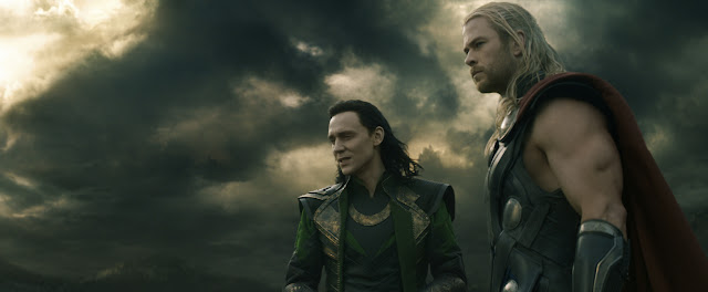 Thor: The Dark World Loki (Tom Hiddleston) & Thor (Chris Hemsworth)