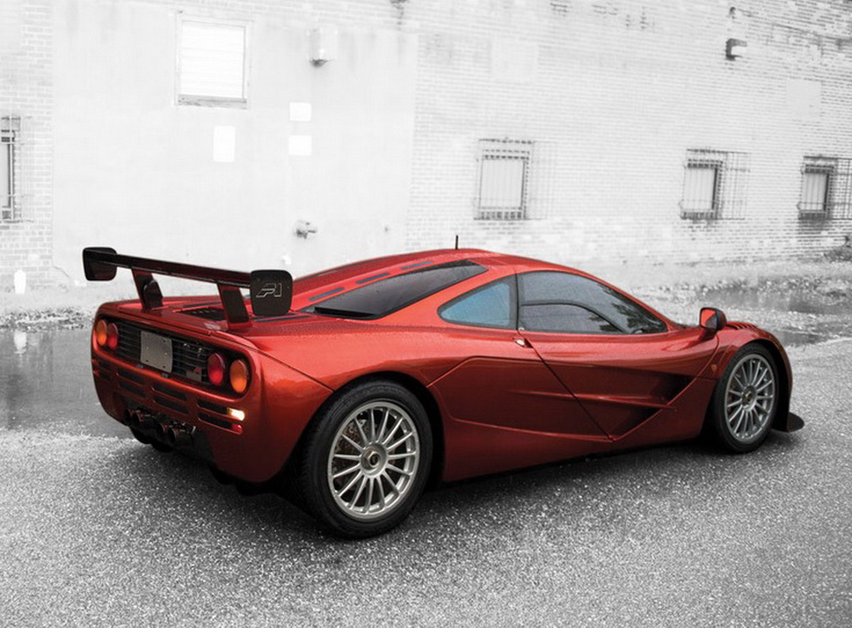 Yes, That's A McLaren F1 LM-Spec Heading To An Auction