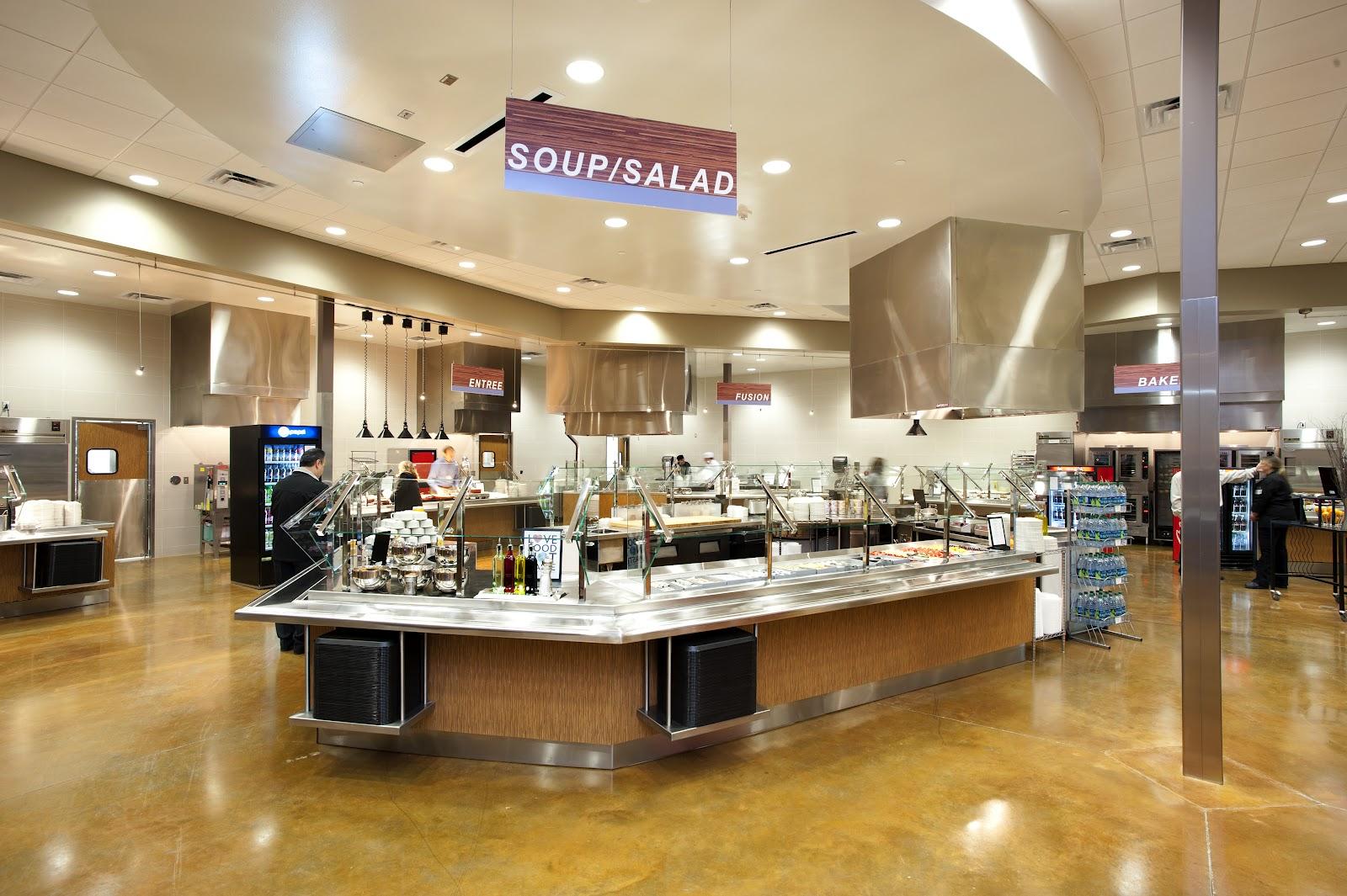 Dallas Design Corporate Cafeterias