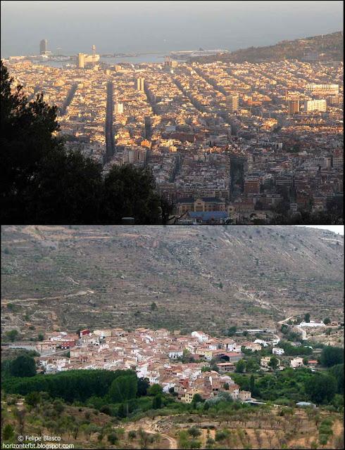 Barcelona y Casas Altas