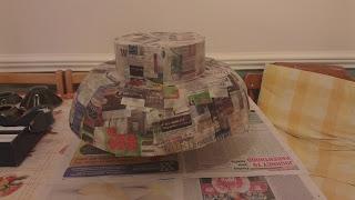 Lego homemade costume head
