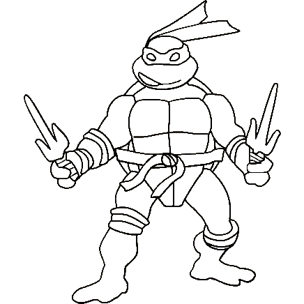 Coloring Pages Of Turtles