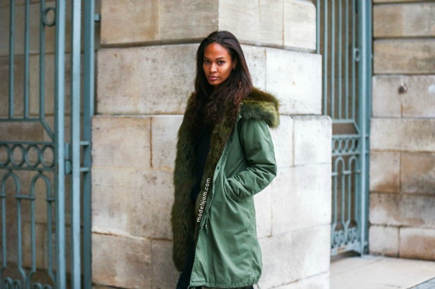 Joan Smalls, Paris, January 2016
