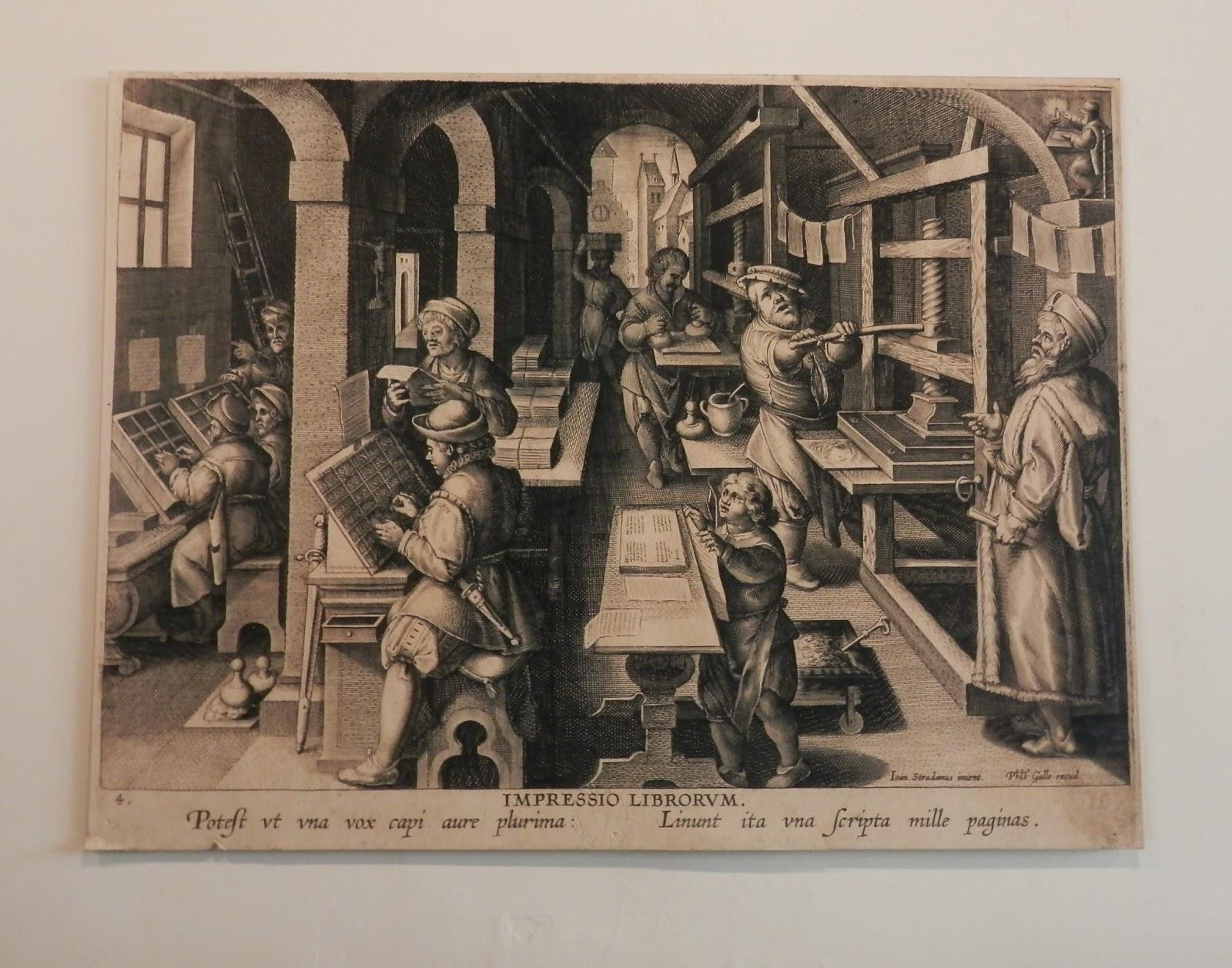 Impressio Librorum. Theodor Galle (Flemish, 1571–1633).