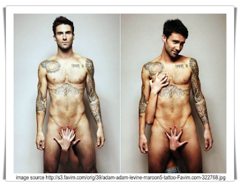 Maroon 5's Adam Levine Poses Nude for Cosmopolitan UK's Prostate Cancer Awareness
