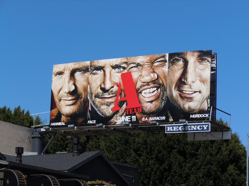 A-Team movie remake billboard