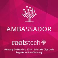 RootsTech 2018 Ambassador