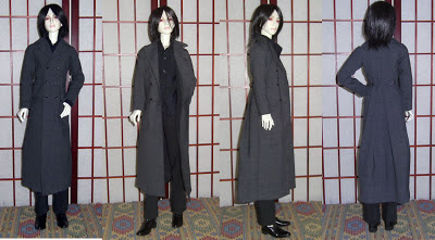 Ball joint doll detective greatcoat, sherlock