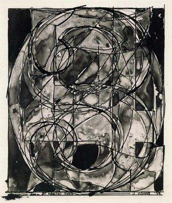 Jasper Johns 0 through 9 etching 1967-9Jasper Johns Numbers White