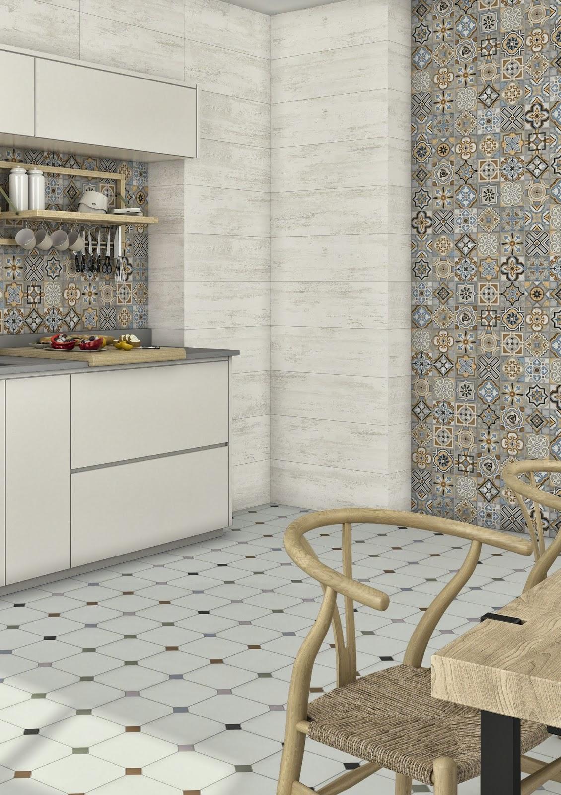 La casa da vivere visto al cersaie pavimenti con piastrelle decorate - Piastrelle disegnate ...