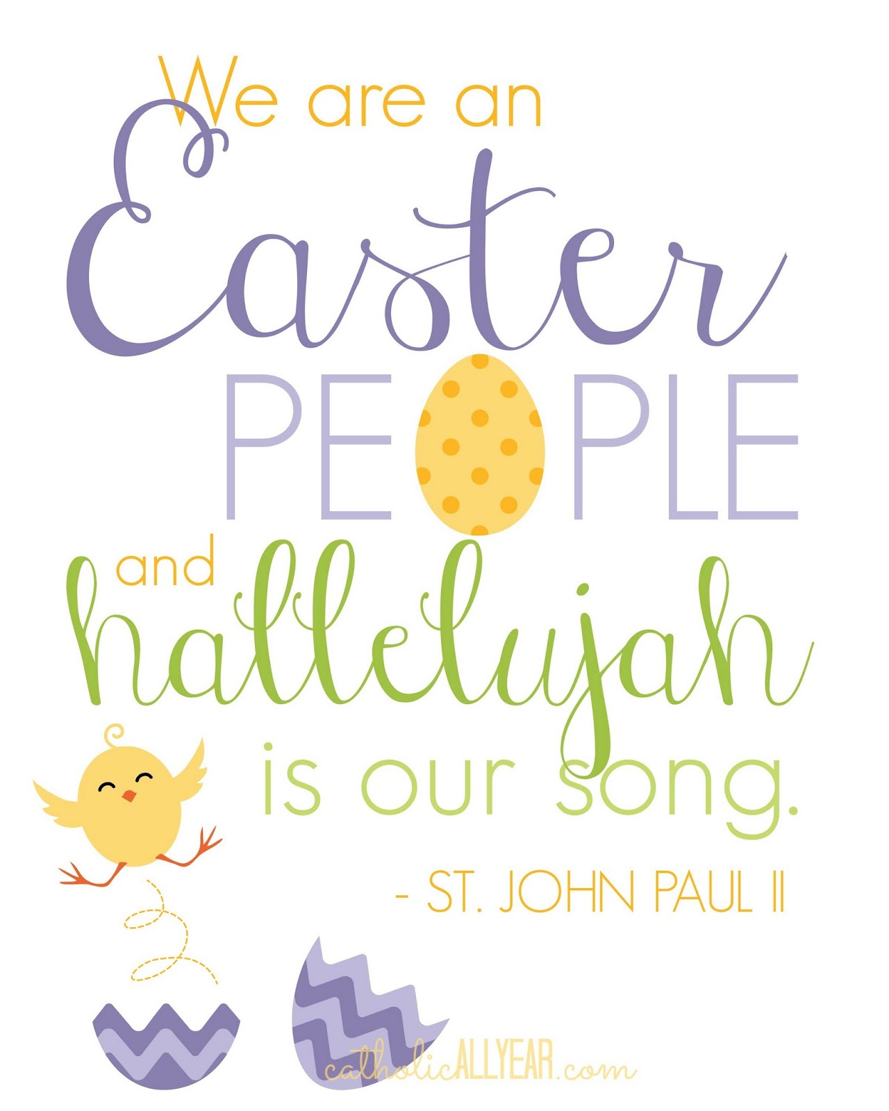 Catholic all year a little peek inside our easter baskets hint and on yellow negle Choice Image