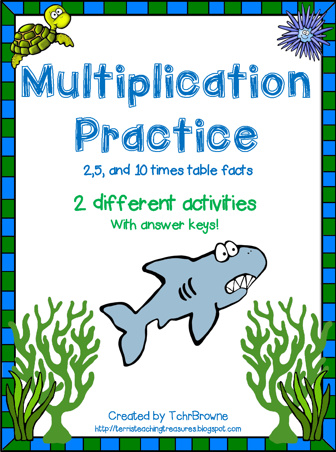 http://www.teacherspayteachers.com/Product/Multiplication-Practice-2510-times-tables-1335976