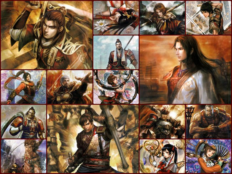 Dynasty Warriors 8 Artworks - ง่อก๊ก