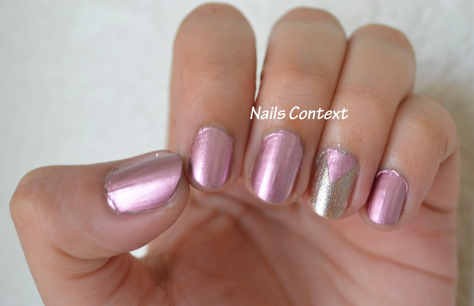 Last Year I Bought My First Butter London Polish Called Fairy Lights Is A Soft Pink Metallic