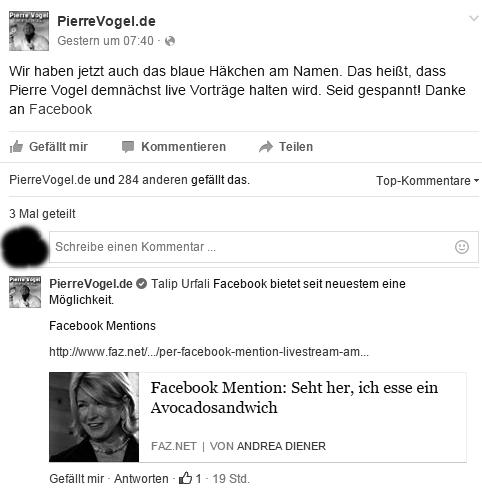 Pierre Vogel und seine Welt: Pierre Vogel darf auf Facebook nun live ...