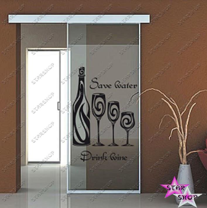 Vinilo decorativo cocina adhesivo pegatina wall sticker art decal vinoteca vinilos decorativo - Pegatinas para cocinas ...