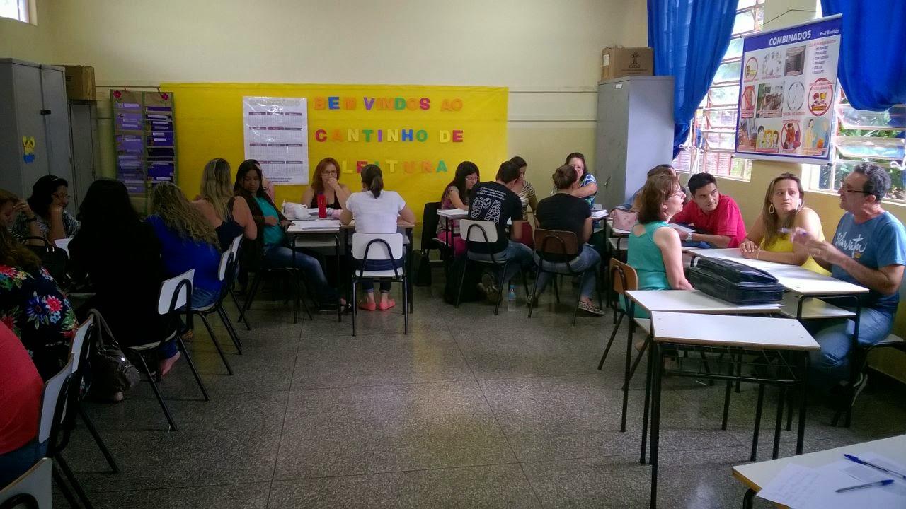 Reunião Pedagógica 21 Fevereiro