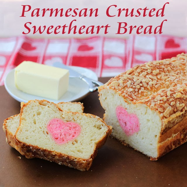 Sweetheart Bread | HungryHappenings.com