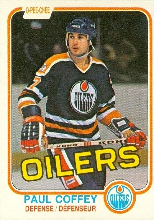 paul coffey edmonton oilers hockey card