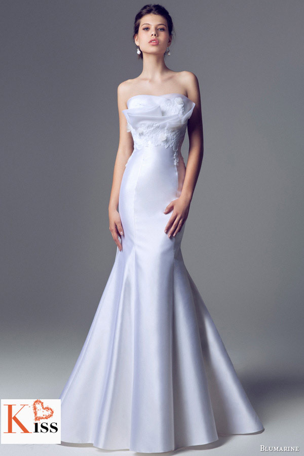 mermaid 2014 Wedding Dresses Collection From Blumarine