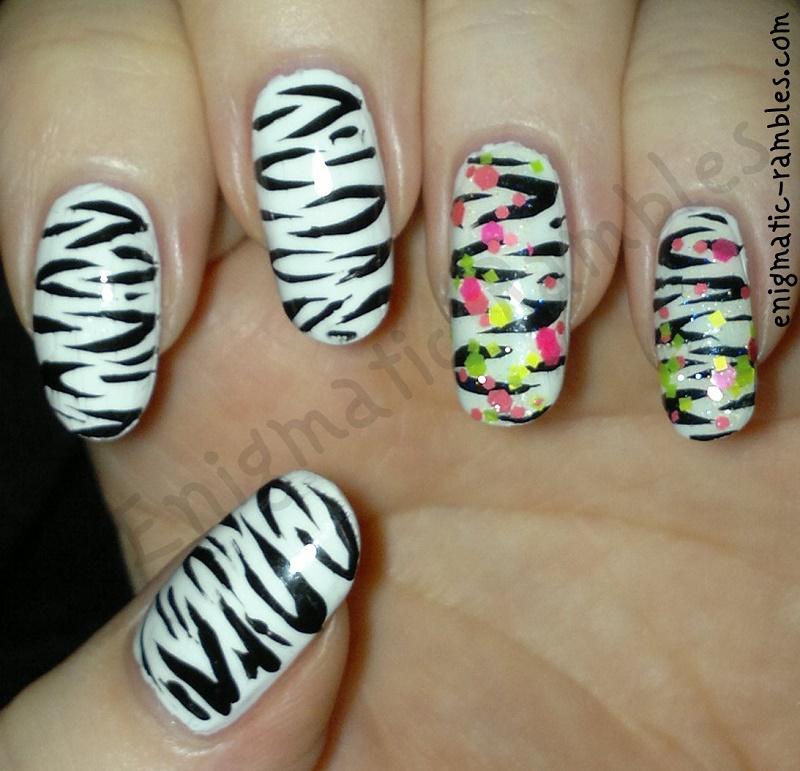 Neon-Glitter-Zebra-Nails-KPT-Color-Therapy
