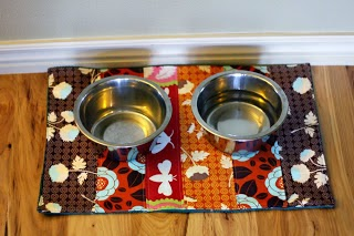 Knitty Bitties | Free Dog Food Bowl Mat Pattern