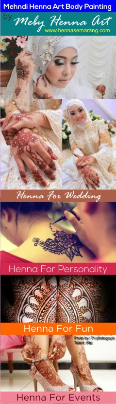 Henna Art Body Painting