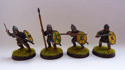 Anglo-Dane Huscarls from SAGA