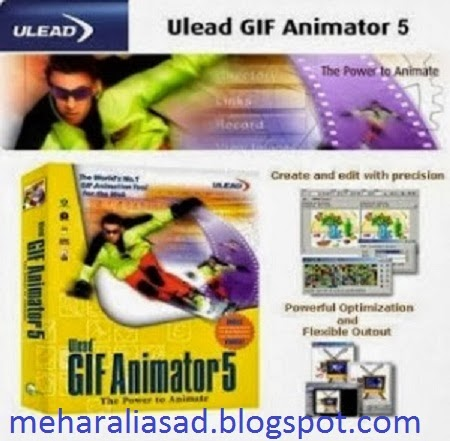 Ulead GIF Animator v5.09 Portable Windows 2000/XP/Vista/Windows 7 Many addi