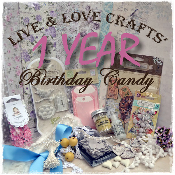 Live & Love Crafts 1 Year Candy