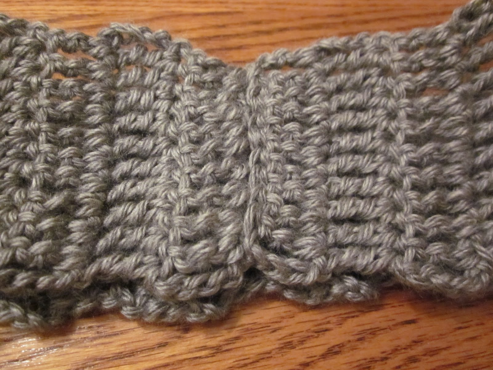 Crochet Ear Warmer : The Crafty Novice: Simple Crochet Ear Warmer