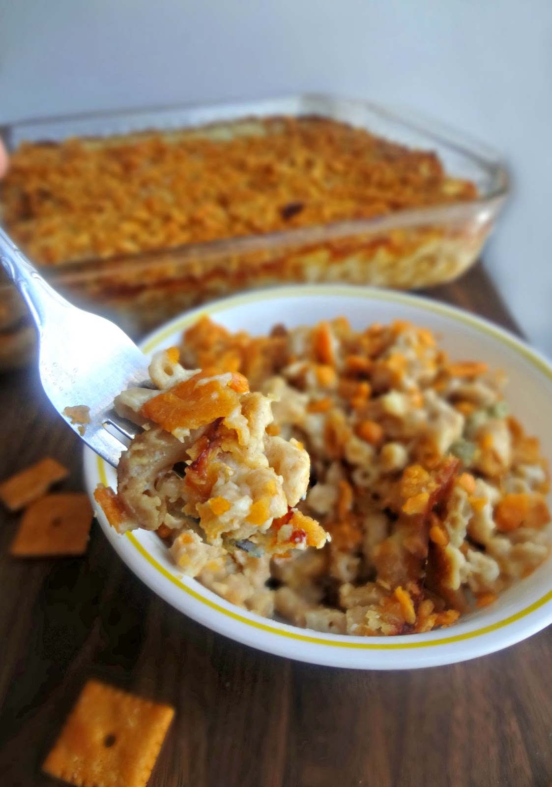 The Cooking Actress: Cheez-It Macaroni and Cheese