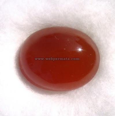 Batu permata orange garut