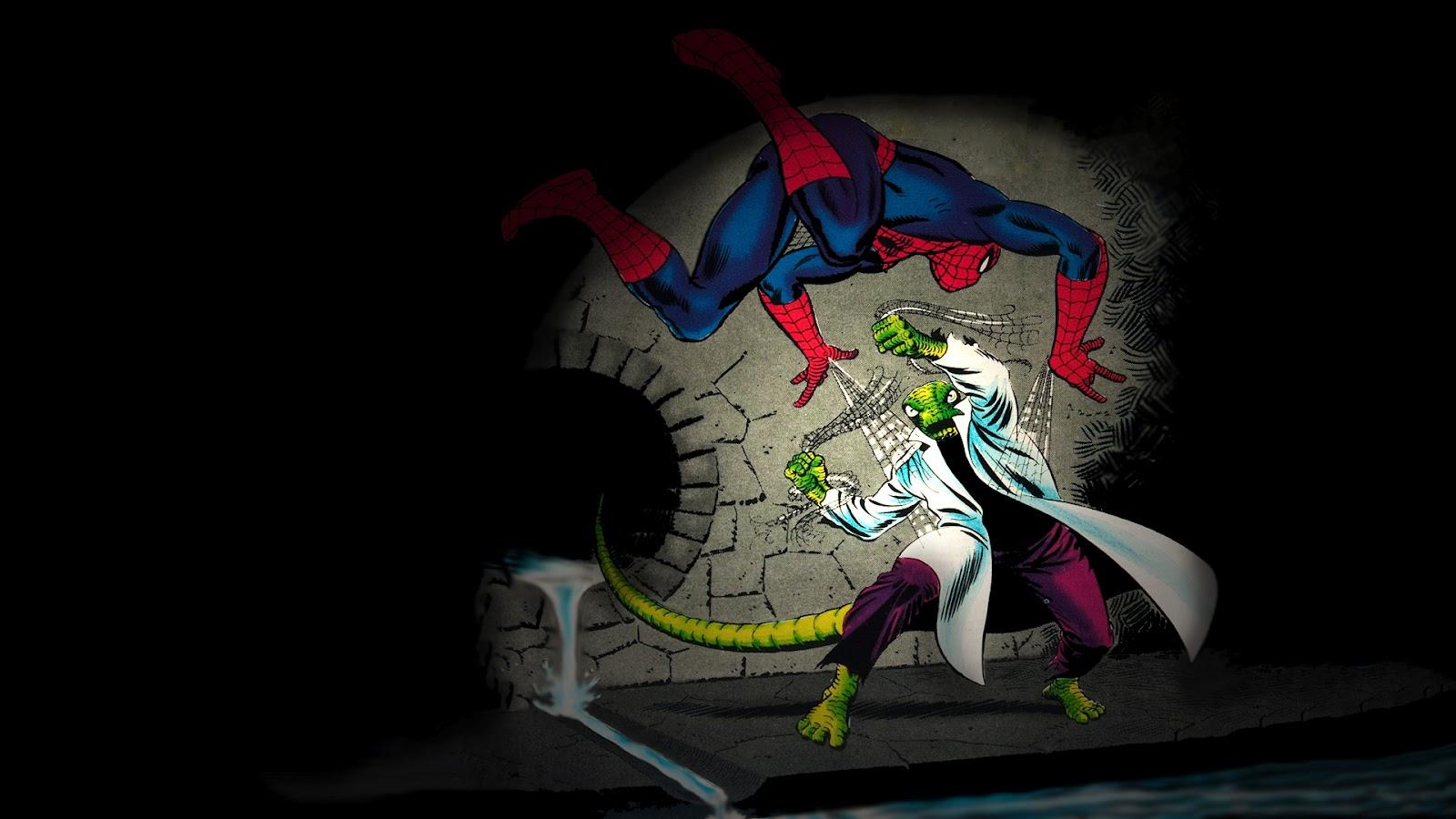 Wonderful Wallpaper Marvel Lizard - Spiderman+Vs+The+Lizard+Wallpaper  Pictures_946293.jpg