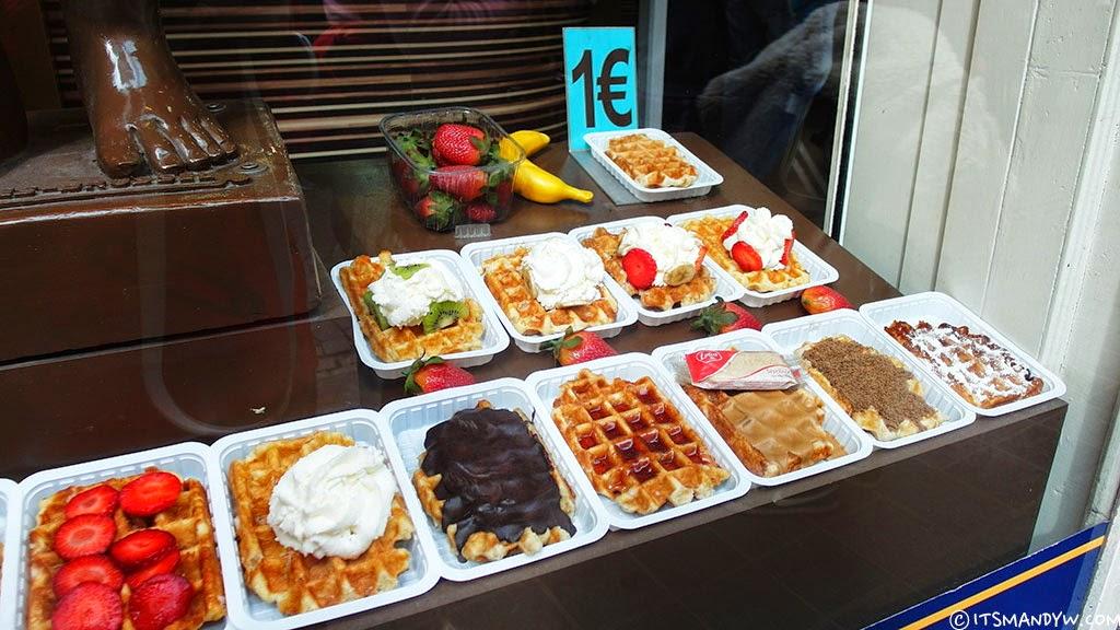 【比利時】空氣感滿分的鬆餅 - Waffle Factory