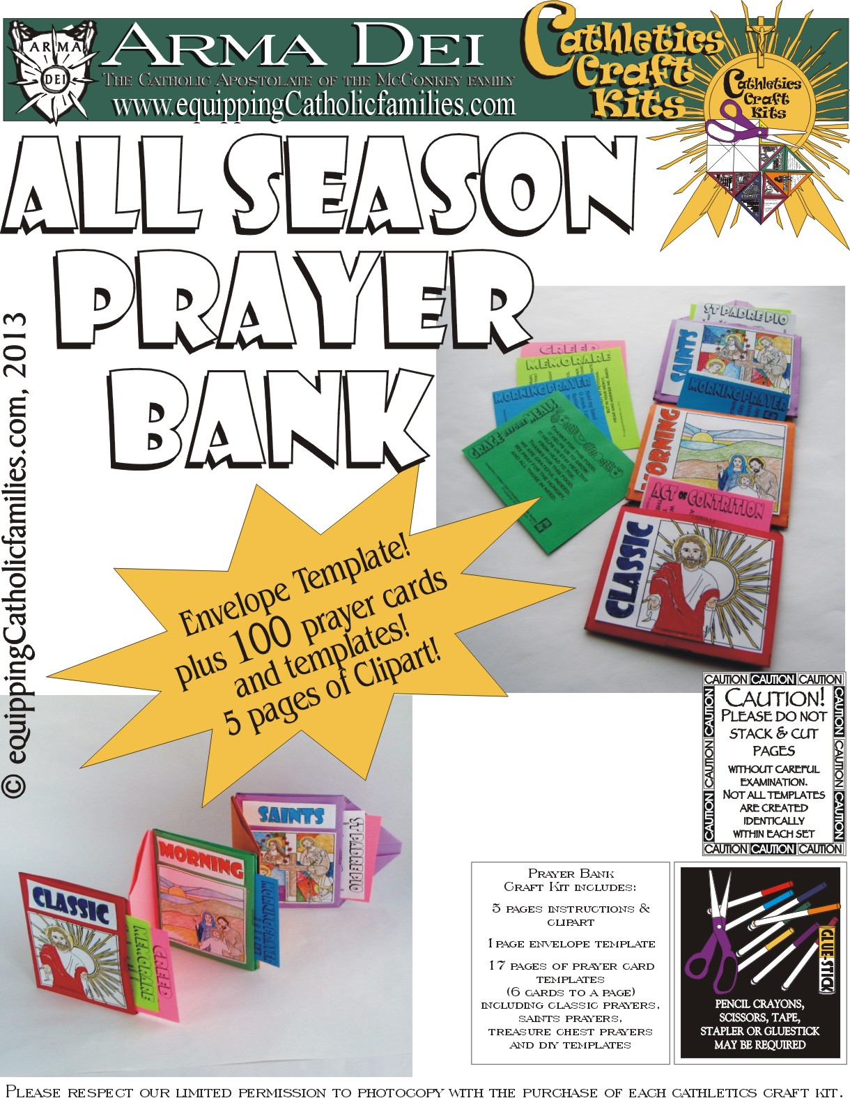 New Release: All Season Prayer Bank! - Equipping Catholic Families