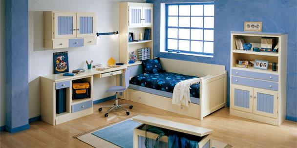 Camas nido dormitorios juveniles dormitorios infantiles for Cama nido color haya
