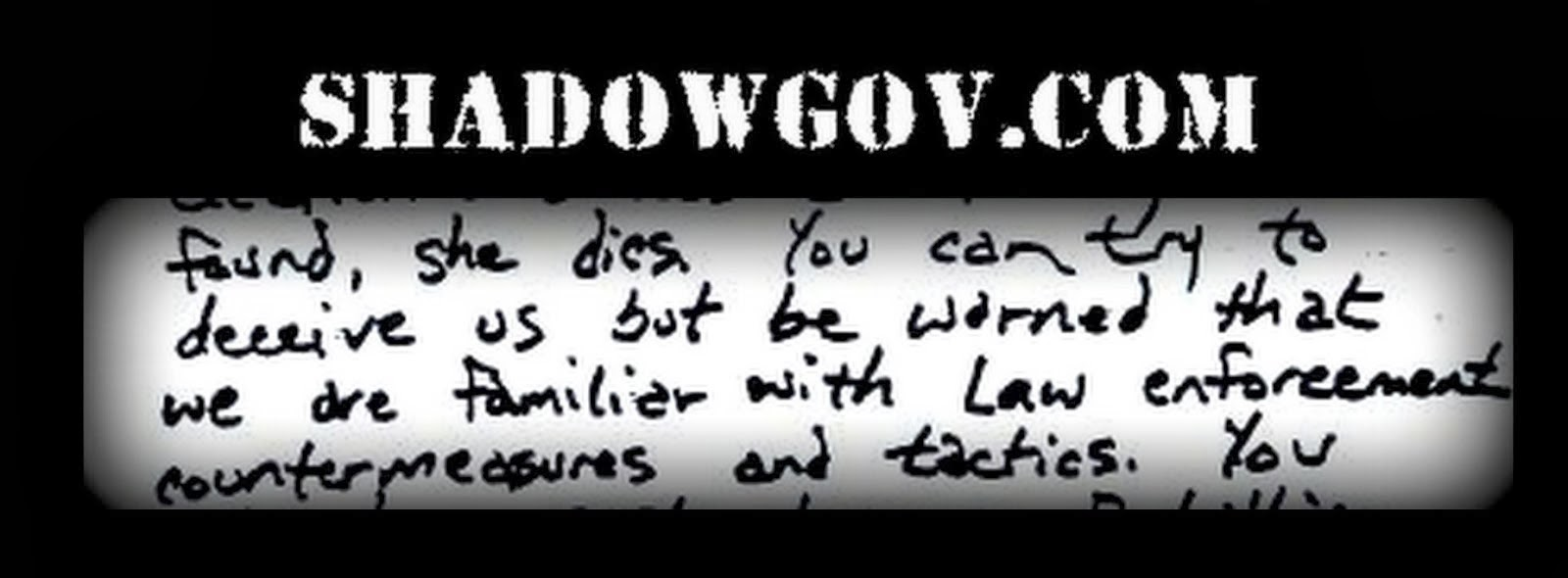 "ShadowGov ""Small Foreign Faction"" DNA Secrets to be Revealed"