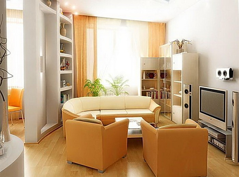 Small space living room ideas the flat decoration for Room design ideas for small spaces