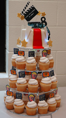 Old Hollywood Theme Party Ideas for Cake
