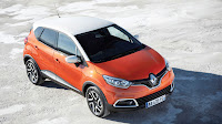 Renault Captur Crossover front top