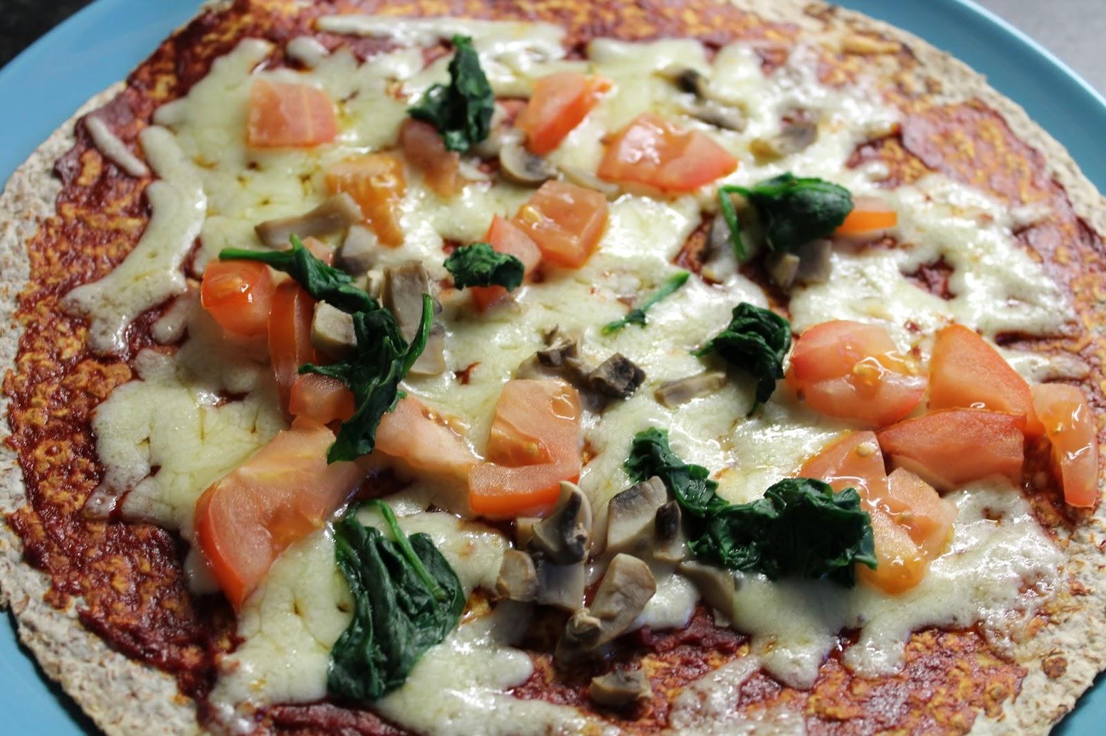 Tortilla Pizza - A Healthy Idea - Recipe